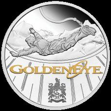 2021 $1 James Bond - Golden Eye Silver Proof