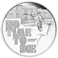 2020 $1 James Bond - No Time To Die Silver Proof