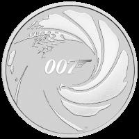 2020 $1 James Bond Silver Bullion Coin