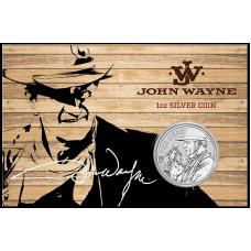 2020 $1 John Wayne Silver Coin