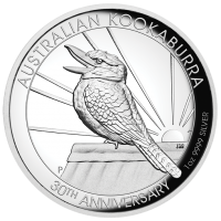 2020 $1 Kookaburra High Relief Silver Proof