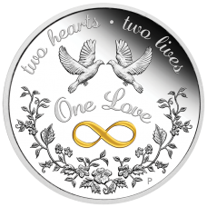 2020 $1 One Love Silver Proof