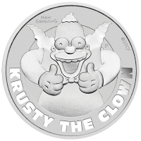 2020 $1 Simpsons - Krusty