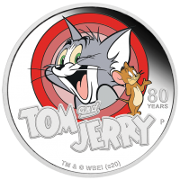 2020 $1 Tom and Jerry Silver Proof
