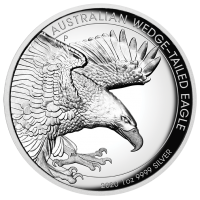 2020 $1 Wedge Tail Eagle High Relief Proof
