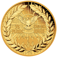 2020 $200 75th Anniversary of the End of WWII Gold Proof