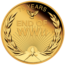 2020 $25 75th Anniversary of the End of WWII Gold Proof
