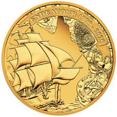 2020 $25 Voyage of Discovery - Endeavour Gold Proof