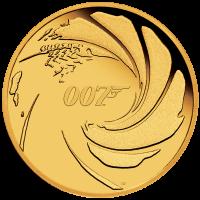 2020 $25 James Bond Gold Proof