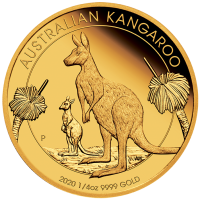 2020 $25 Kangaroo Gold Proof