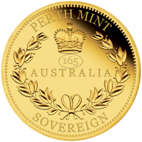 2020 $25 Sovereign Gold Proof