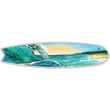 2020 $2 Surfboard Silver Proof