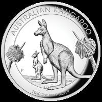 2020 $8 Kangaroo High Relief Silver Proof