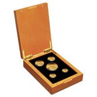 2020 Kangaroo 5 Coin Gold Set