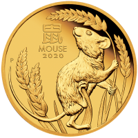 2020 $25 Year of the Mouse Gold Proof