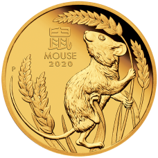 2020 $15 Year of the Mouse Gold Proof