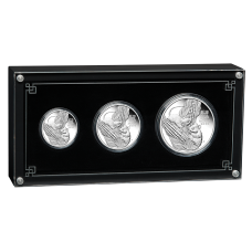2020 Year of the Mouse 3 coin Silver Proof Set