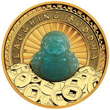 2021 $100 Laughing Buddha Gold Proof