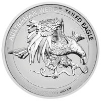 2021 $1 Wedgetail Eagle Silver Enhanced Reverse Proof High Relief Coin