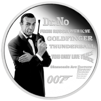2021 $1 James Bond Legacy Series - 1st Issue
