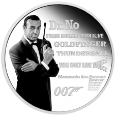 2021 $1 James Bond Legacy Series - 1st Issue