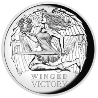2021 $1 Winged Victory High Relief Silver Proof