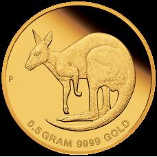 2021 $2 Mini Roo Gold Proof