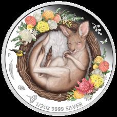 2021 50c - Dreaming Down Under - Kangaroo