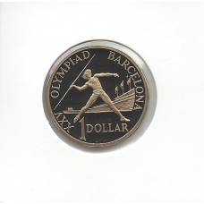 1992 $1 Barcelona Proof (From Proof Set)
