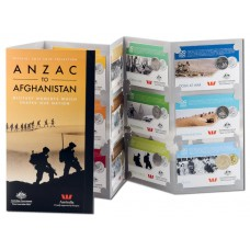 2016 ANZAC to Afghanistan Collection ( 10 x 20c, 4 x 25c coins)