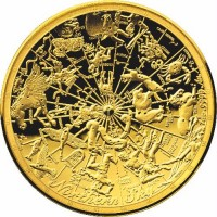 2017 $100 Northern Skies - Celestial Dome Gold Proof