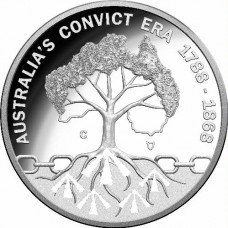2018 $1 Rascals and Ratbags Silver Proof