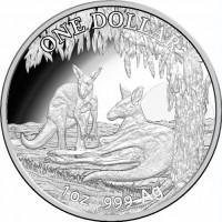 2018 $1 Kangaroo Silver Proof