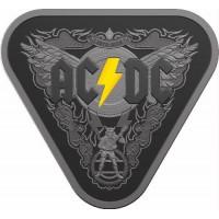 2018 $5 AC/DC Black Silver Proof