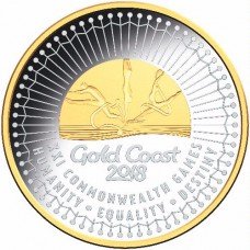 2018 $5 Commonwealth Games Silver Proof