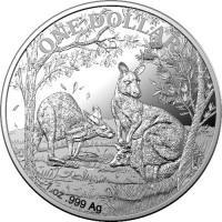 2019 $1 Kangaroo Silver Proof