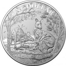 2019 $1 Kangaroo Silver Unc
