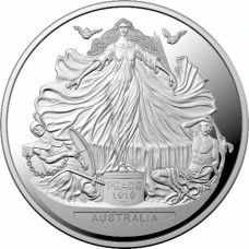 2019 $5 Treaty of Versailles Silver Proof