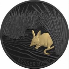 2019 $5 Echos of Australian Fauna - Lesser Bilby