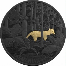 2019 $5 Echos of Australian Fauna - Tasmanian Tiger