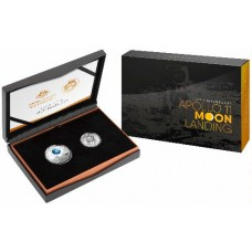 2019 Moon Landing 2 coin set (Australia/USA joint issue)