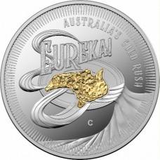 2020 $1 Australia's Gold Rush Silver Proof