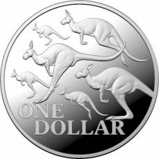 2020 $1 Kangaroo Silver Proof