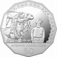 2020 50c Afghan Cameleers Silver Proof