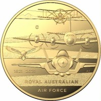 2021 $10 Centenary of the Airforce Gold Proof
