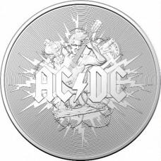 2021 $1 AC/DC silver coin