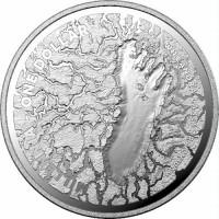 2021 $1 Mungo Footprint Silver Proof