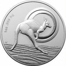2021 $1 Kangaroo Silver Unc