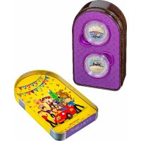 2021 30c Wiggles 2 coin set