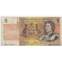 R71 $1 Coombs/Wilson First Prefix AAA Fine